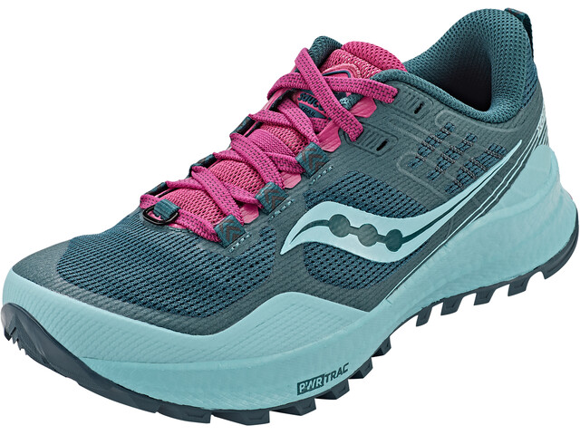 saucony Xodus 10 Zapatillas Mujer, azul/rosa
